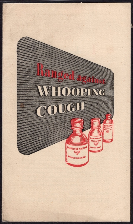 1960c Glaxo Advertisement Brochure (Medical Theme) Related of Cough (@2070)