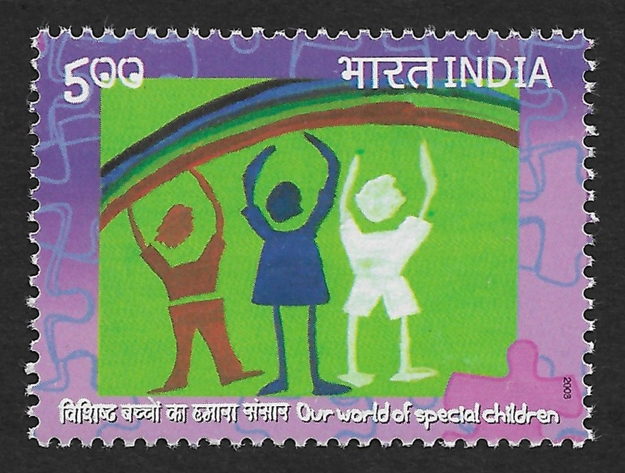 India 2003 Austism Hosted by Tamanna Association MNH