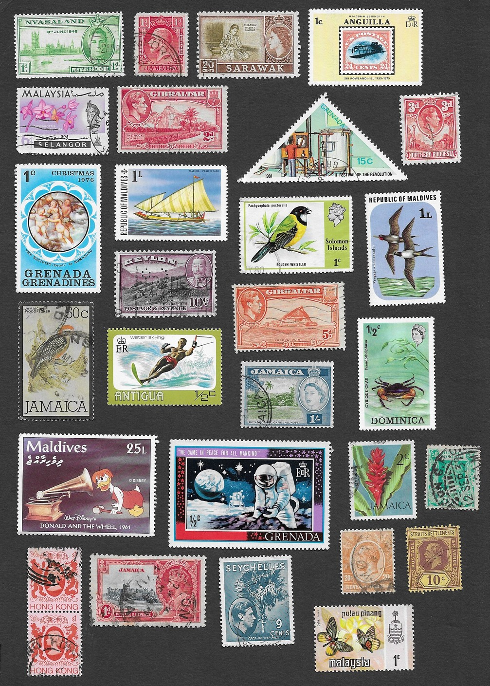 Worldwide stamp collection mostly British Commonwealth 8