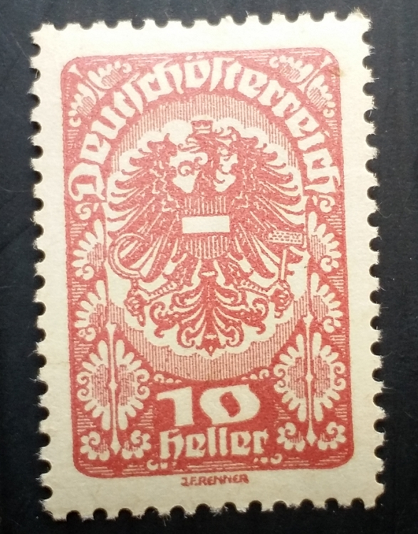 Austria Stamps - Issues of 1918 RARE OLD MINT  #5