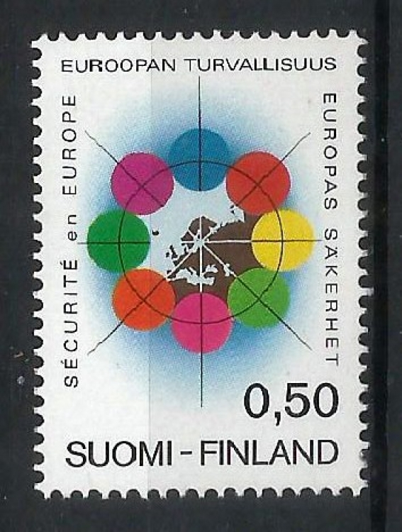 Finland MNH stamp - 1972 European security conference in Helsinki (P-028/U)