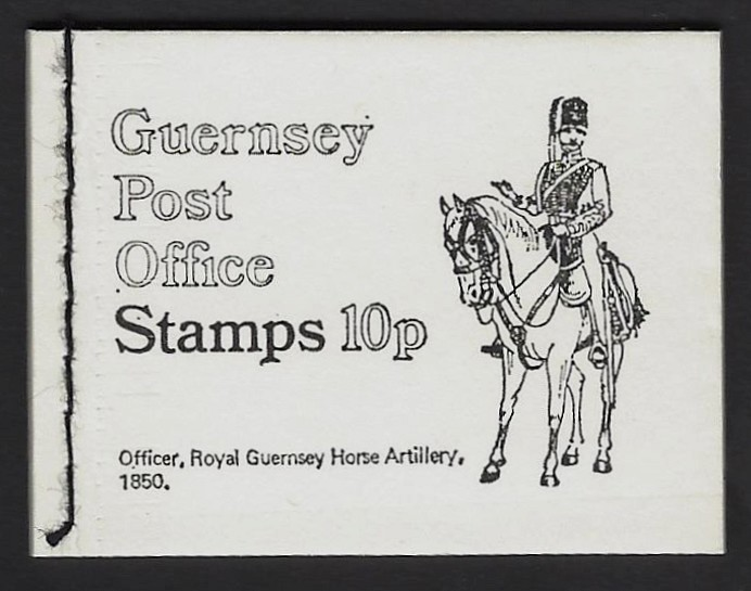 Guernsey booklet 10p