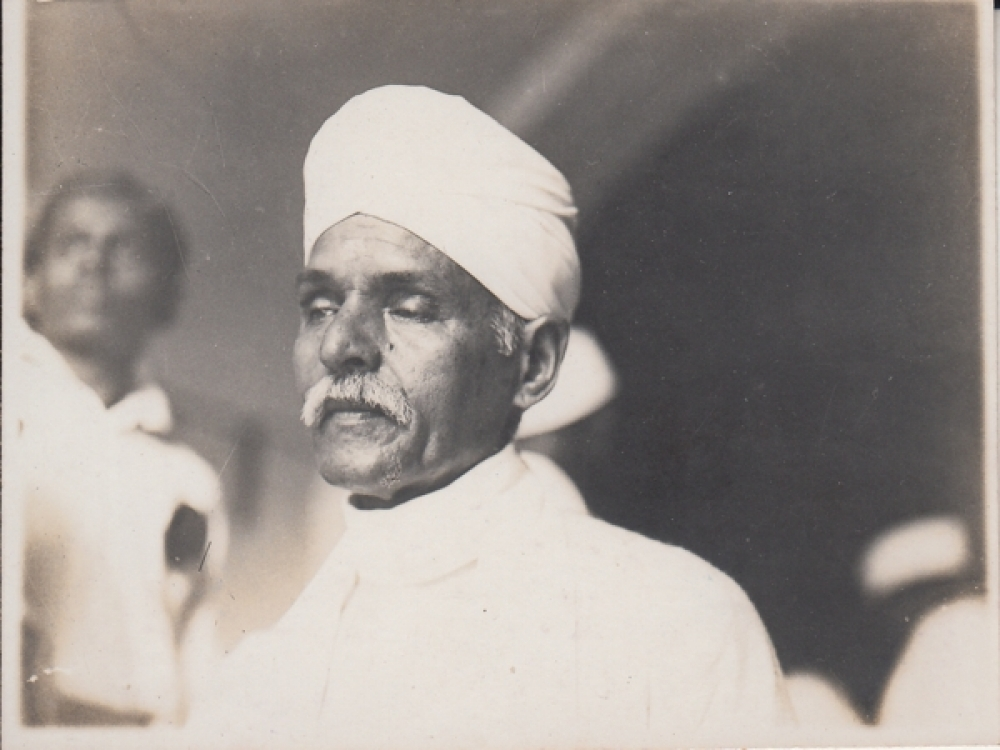 Madan Mohan Malviya  Pre- Independence Period  Photo  Clicked At Bombay # 21534 d