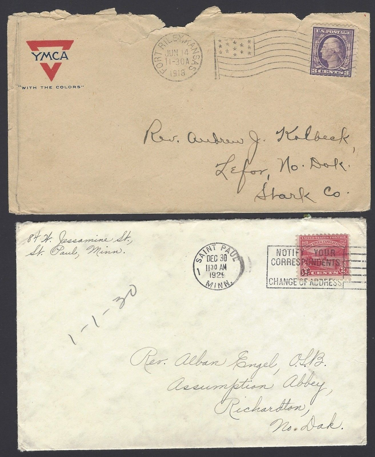 USA cover collection 1918 to 1958 (10)